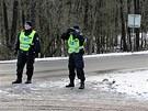 Policisté ze speciálního týmu Krystal se při kontrolách v pohraničí intenzivně