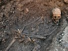 Kostru krále Richarda III. našli v anglickém Leicesteru.