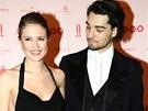 Ples v Opeře 2013 - Emma Smetana a její partner Jordan Haj