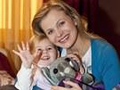 Michaela Badinková s dcerou Evelínou