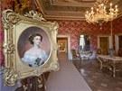 Portrét císařovny Sisi (Alžběta Bavorská) v přijímací místnosti císařského...