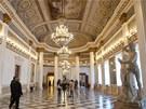 Ball Room neboli Míčovna v královském paláci v Benátkách.