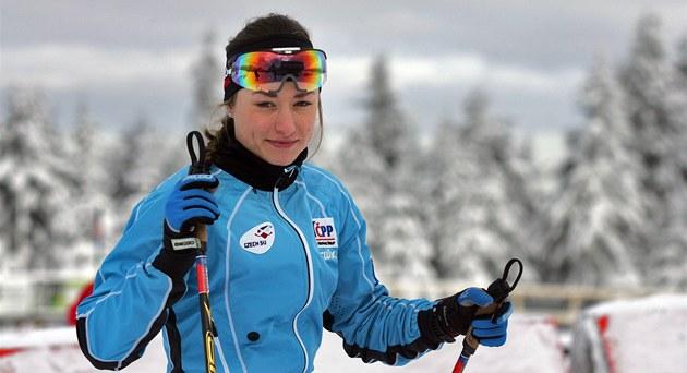 B�kyn� na ly�ích Petra Nováková