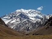Nejvyšší hora Ameriky Aconcagua.