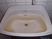 Dámské toalety vedle bufetu v Městské nemocnici Ostrava