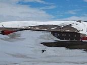 V�zkumn� stanice Masarykovy univerzity na ostrov� Jamese Rosse v Antarktid�