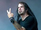 """Zp�v�k skupiny Lamb Of God Randy Blythe """"v akci"""""""