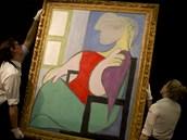 Pablo Picasso: Žena, sedící u okna