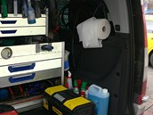 Vybavení servisního auta