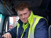 Kamil Šoch, řidič odtahového auta
