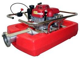 Plovoucí čerpadla slouží k doplňování cisteren hasičských vozů nebo odčerpávání
