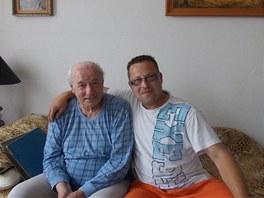 Milan Grosmann navštívil několik pamětníků, kteří byli s jeho dědečkem ve