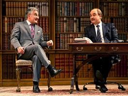 Henry Goodman (jako Sir Humphrey Appleby) a David Haig (jako premiér Jim