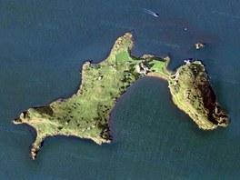 Skotský ostrov Inchcolm