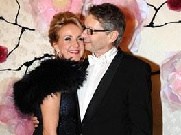 Ples v Opeře 2013 - Vendula Svobodová s přítelem