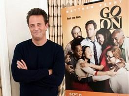Matthew Perry p�edstavil sv�j seri�l Go on.
