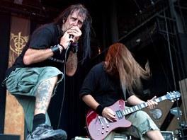 Z vystoupení skupiny Lamb Of God na koncert+ v San Bernardinu v roce 2010