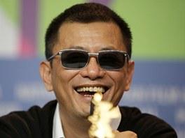 Režisér Wong Kar Wai při zahájení Berlinale 2013