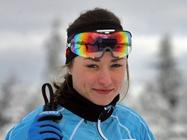 Běžkyně na lyžích Petra Nováková