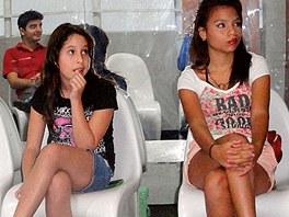 Školy pro budoucí královny krásy jsou ve Venezuele masově rozšířené jako první