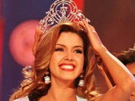 Alicia Machado získala titul Miss Universe.