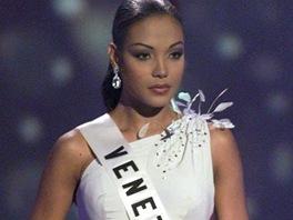 Miss Venezuela Carolina Indriago na soutěži krásy Miss Universe.