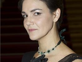 Americká blogerka Heather O'Brien si do Opery vybrala šaty Zuzany Veselé, které