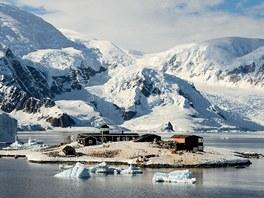 Chilská základna v Paradise Bay