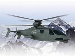 Sikorsky S-97 Raider bude používat princip koaxiálního rotoru, což jsou dva