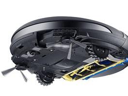 Robotický vysavač NaviBot CornerClean (VR10F71)zaregistruje přítomnost rohu a