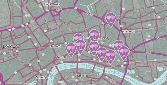 Londýnská siť restaurací Jamie´s