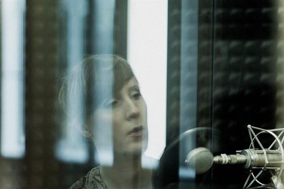 Sissel Vera Pettersen při natáčení alba Blood Sings