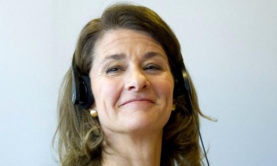 Melinda Gates, man�elka Billa Gatese