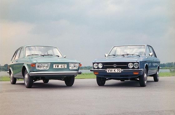 V roce 1972 vyráběl Volkswagen kromě brouka ještě neúspěšný vzduchem chlazený