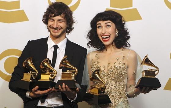 Grammy za rok 2012 - Gotye a Kimbra
