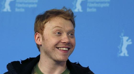 Herec Ruppert Grint na festivalu Berlinale 2013