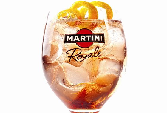 Koktejl Martini Royale