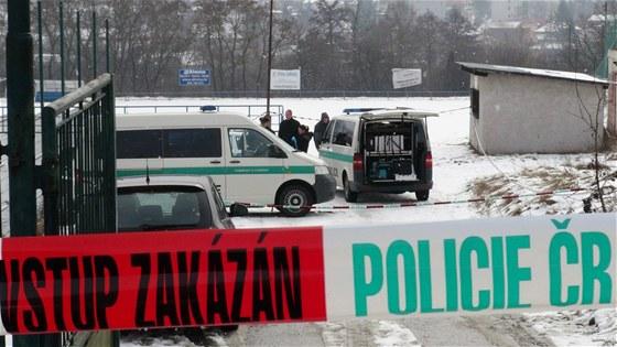 Snímky z místa nálezu těla pětačtyřicetiletého muže v Mníšku pod Brdy (16.