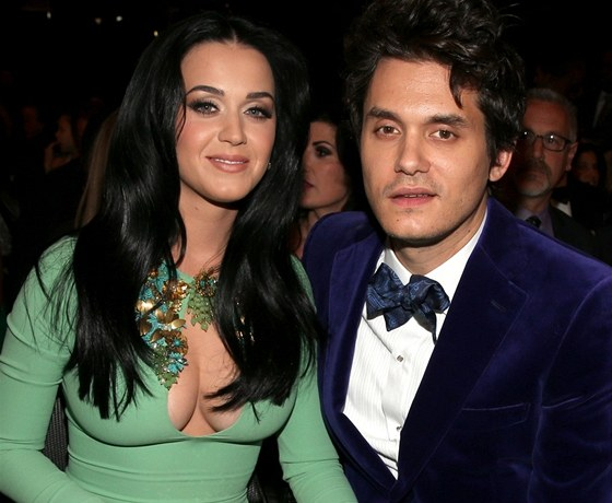 Katy Perry a jej� p��tel John Mayer