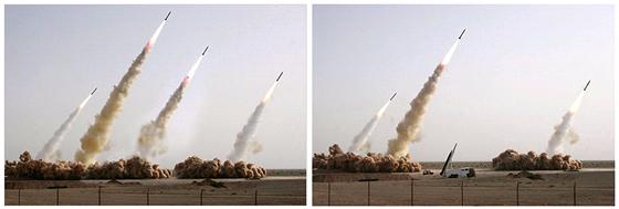 Íránský test balistických střel v roce 2008 se úplně nepovedl, odstartovaly...
