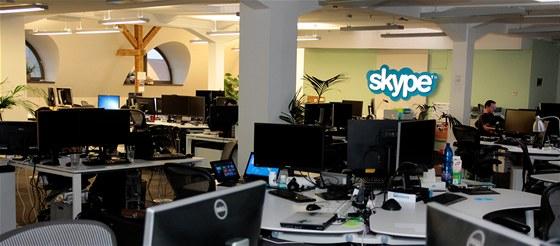 Kanceláře Skype - Praha
