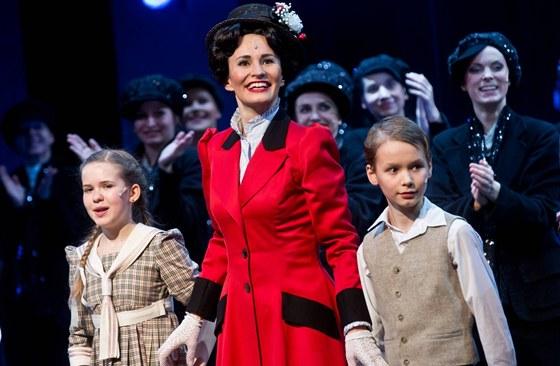 Premi�ra Mary Poppins - Monika Absolonov�
