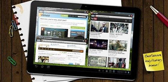 Se speciálním internetovým prohlížečem můžete mít na domovské obrazovce