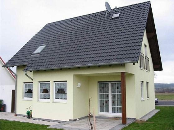 Typový pasivní rodinný dům