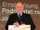 Ocen�n� Technologick� podnikatel roku 2012 z�skal Karel Volenec ze spole�nosti