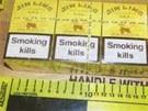 Uvnitř schránky byly cigarety v hodnotě 9 764 000 Kč.