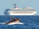 Na lodi Carnival Triumph uvázly na čtyři dny přes čtyři tisíce lidí. Trápil je