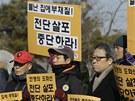 U hranic Jižní Koreje s KLDR v den nedožitých 71. narozenin Kim Čong-ila