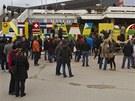 """""""Čerstvě narozený"""" Kosovští Albánci na oslavu 5. výročí své země v Prištině"""