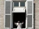 Papež Benedikt XVI. na jednom ze svých posledních veřejných vystoupení. (17.